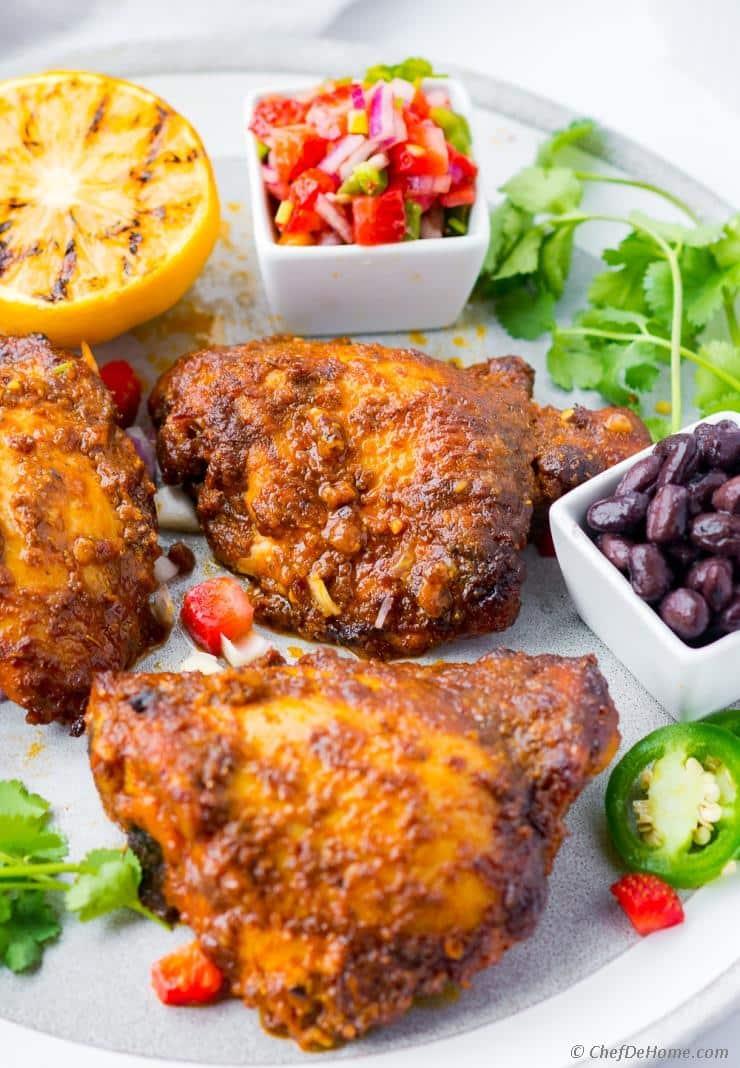 Pollo Asada (Oven Roasted, Grilled)