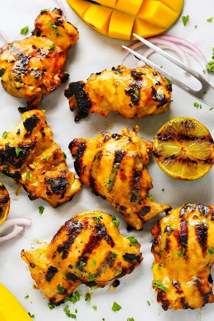 Mango Lime Grilled Chicken