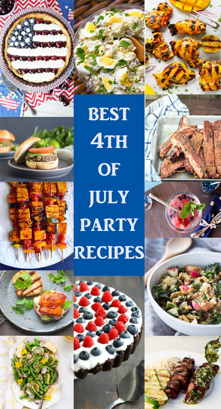 The 4th of July is a great time to celebrate with friends and family! A wonderful time for sharing old family favorites, and trying new recipes. Start some new traditions with our special 4th of July Recipe Round-up! We've partnered with some great food bloggers to bring you some of the best out of the box recipes to make your 4th of July cookout or BBQ extra special this year with this 4th of July Recipe Round-up!