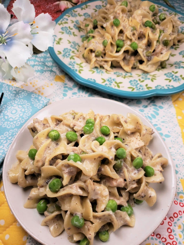 Pressure Cooker Tuna Noodle Casserole