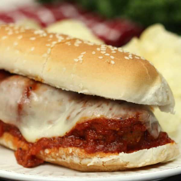 instant pot meatball sandwich recipe
