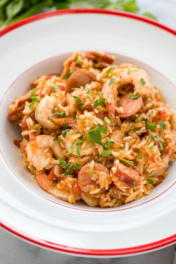 instant pot jambalya recipe