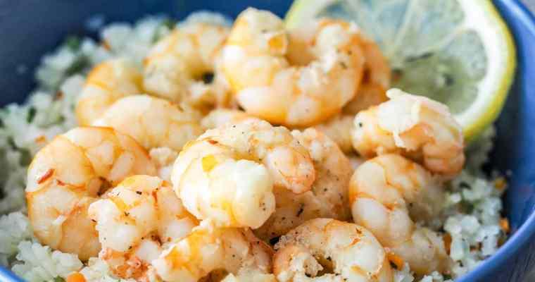 Instant Pot Quick Easy Shrimp Scampi Recipe
