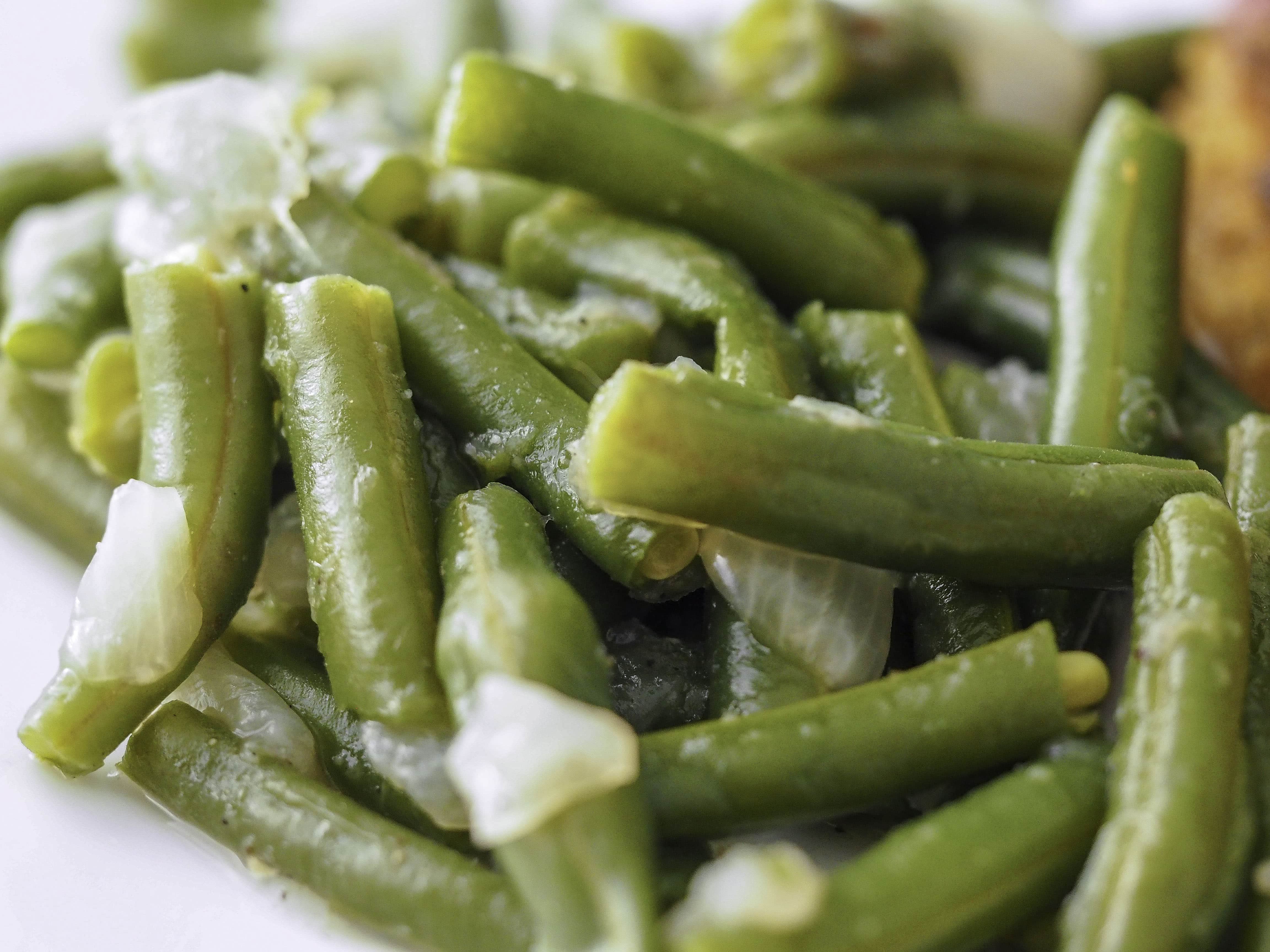 Instant Pot Green Beans with Onions