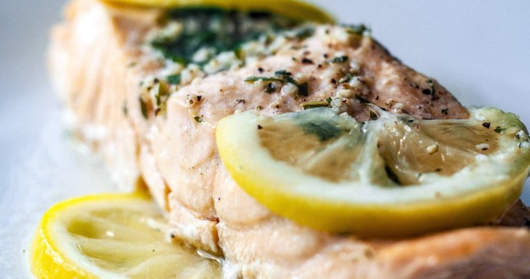 Instant Pot Herbed Lemon Salmon