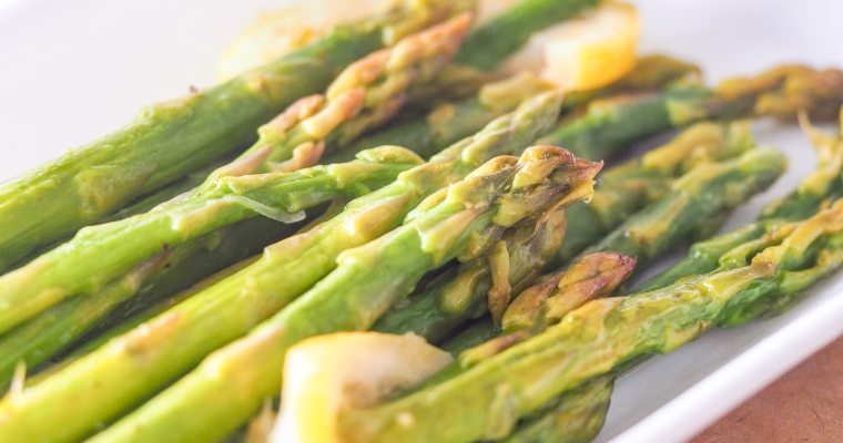 Instant Pot Asparagus with Lemon