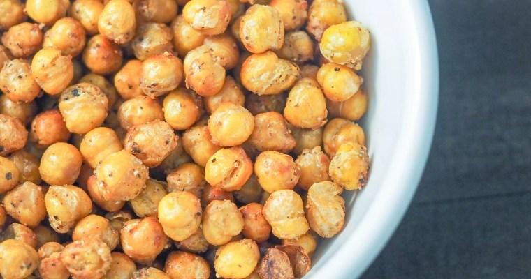 Simply Seasoned Air Fryer Chickpeas