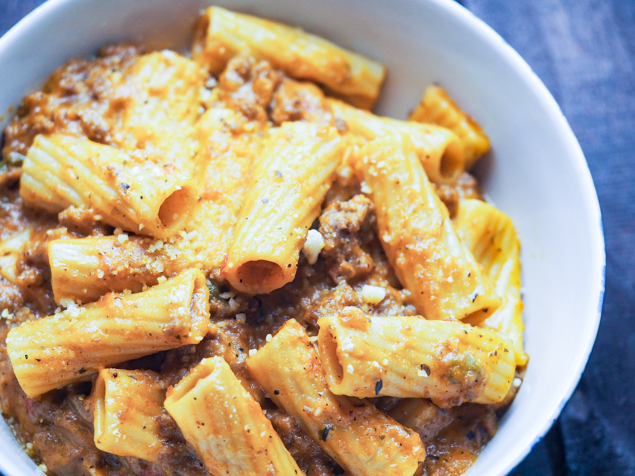 Instant Pot Cheesy Ziti (Johnny Marzetti)
