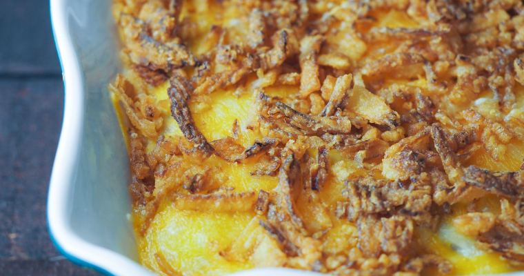 Instant Pot Green Bean Casserole with Cheese