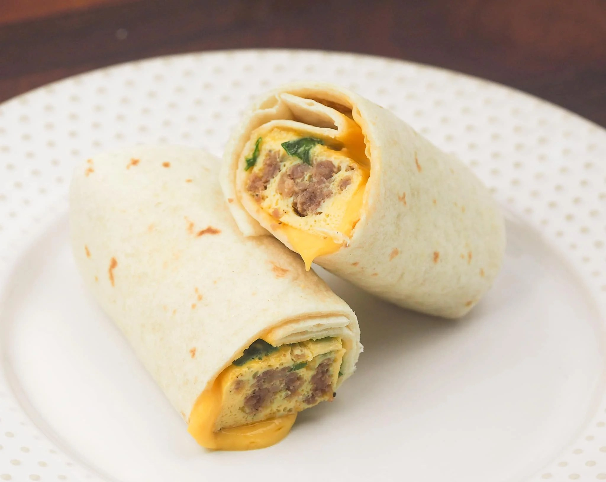 Easy Instant Pot Breakfast Burritos