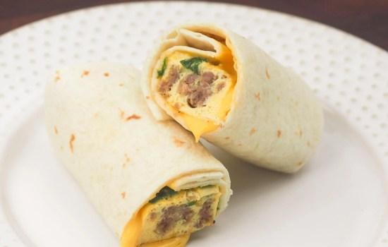 Easy Instant Pot Breakfast Burritos
