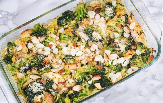 Keto Broccoli Chicken Bake