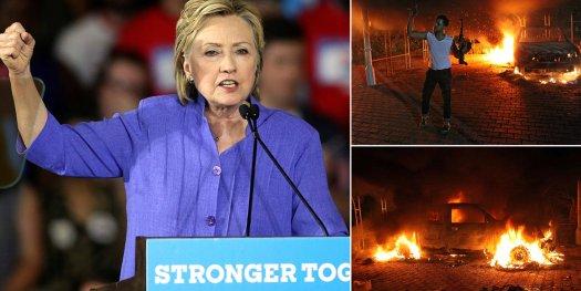 Hillary testifying at Benghazi hearing