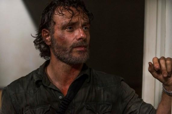 Austin Amelio as Dwight on The Walking Dead