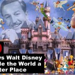How Walt Disney changed the world
