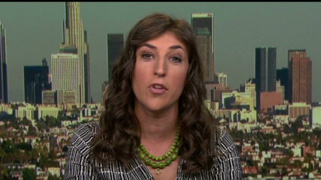 Mayim Bialik   Photo by CNN.com