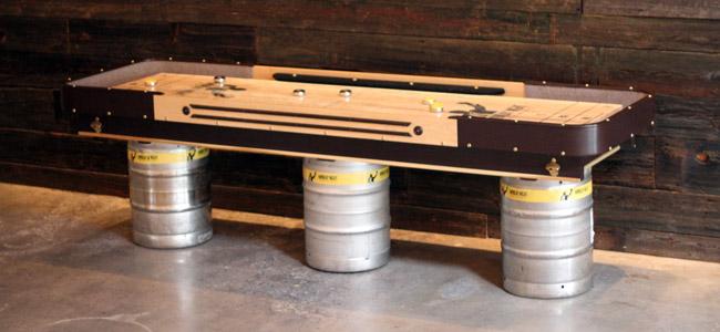Custom Shuffleboard Table? Check.