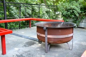 gas starter fire pit
