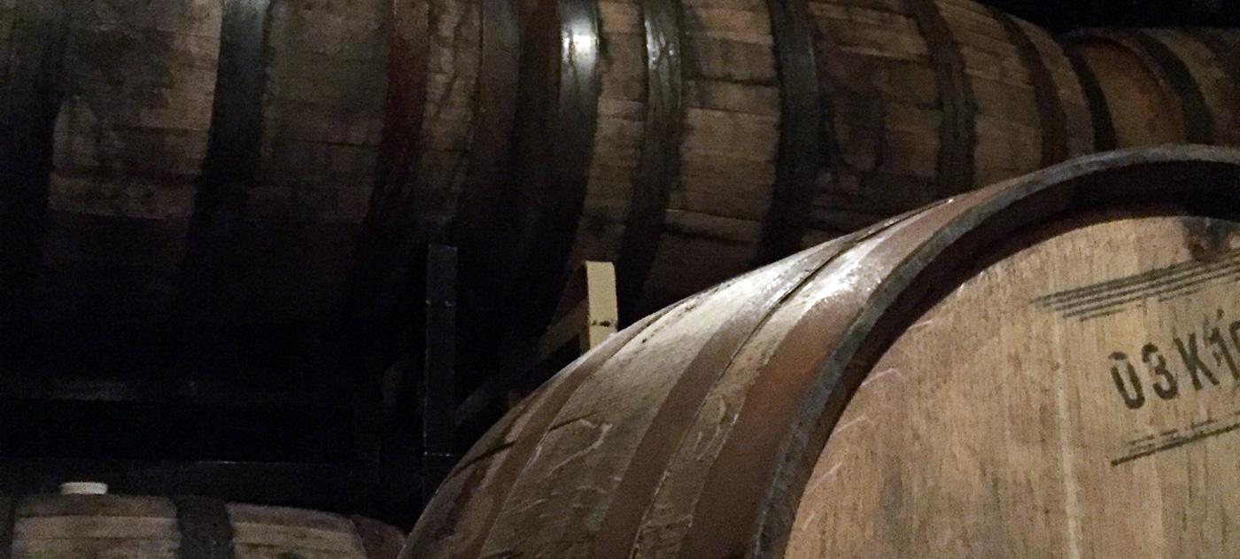 We're selling off some bourbon barrels