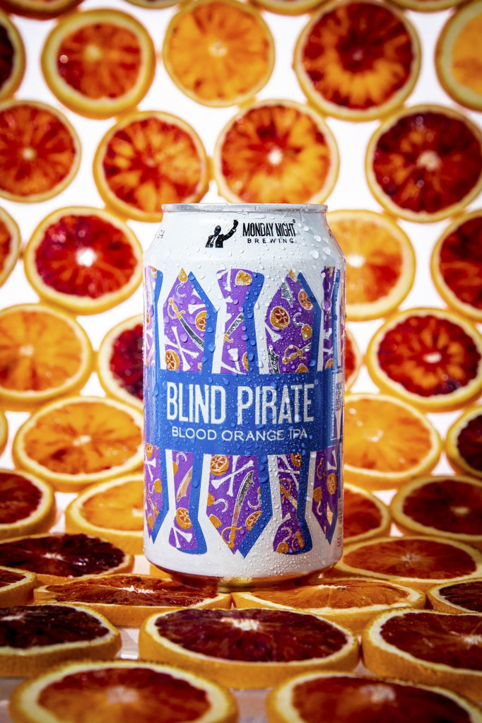 Blind Pirate Blood Orange IPA - Available in 6-packs