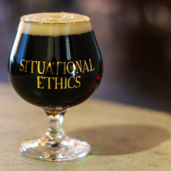 Situational Ethics Glass