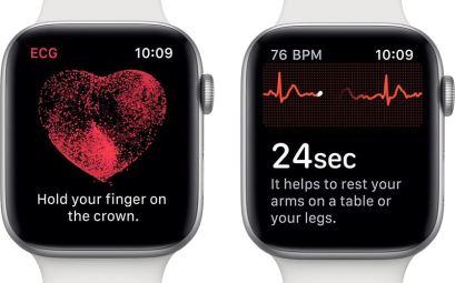 ЭКГ в Apple Watch 4