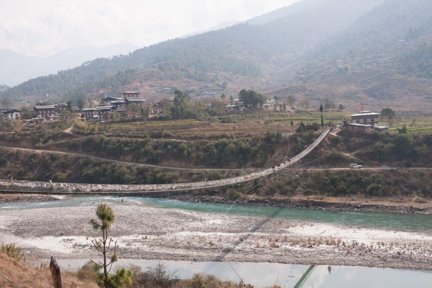 Марафон в Бутане