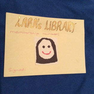 library card 1