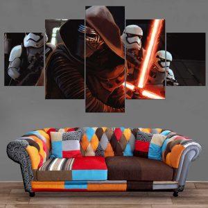 Décoration Murale Star Wars Dark Vador & Troopers