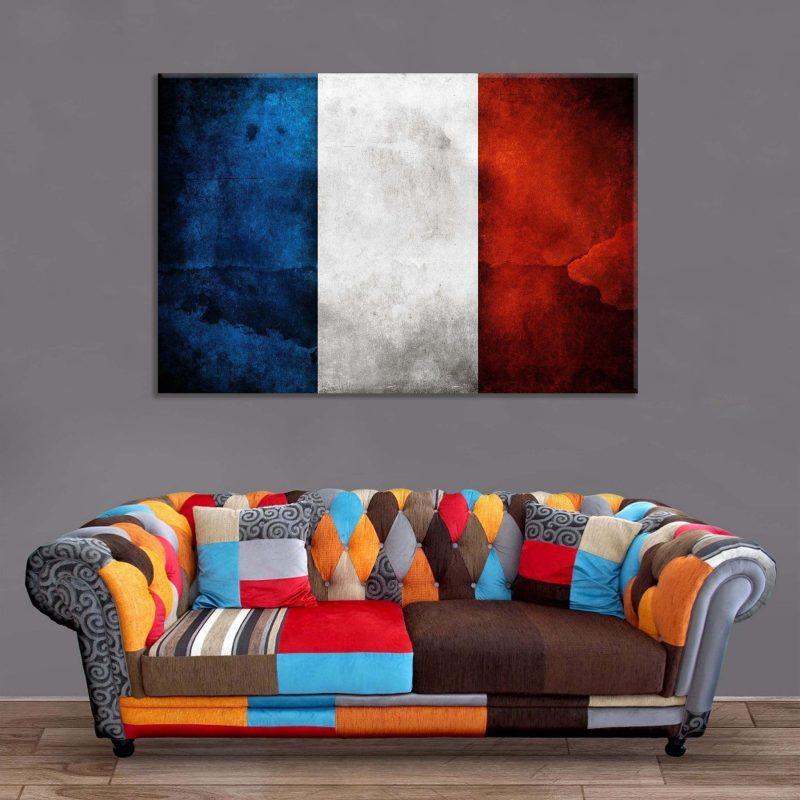 Décoration Murale Drapeau France