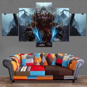 Décoration Murale Warcraft Worgen Genn Greymane