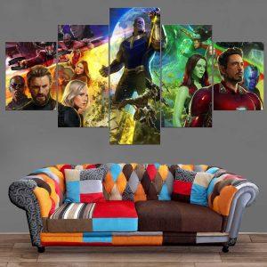 Décoration Murale Avengers Infinity War