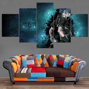 Décoration Murale Final Fantasy 15 Noctis Death is sure Life is not