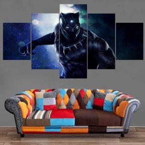 Décoration Murale Avengers Black Panther