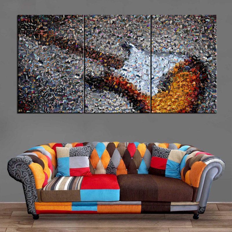 Décoration Murale Musique Guitare Eletrique