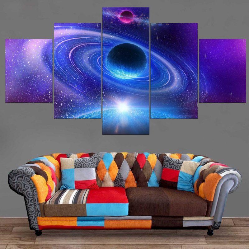 Décoration Murale Espace Cosmos
