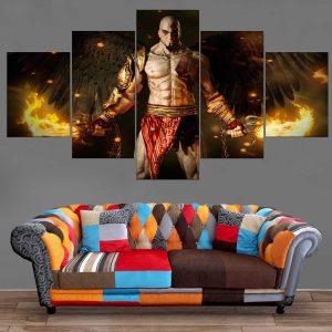 Décoration Murale God Of War God Kratos