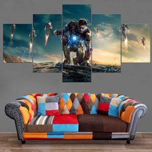 Décoration Murale Avengers Iron Man Légion