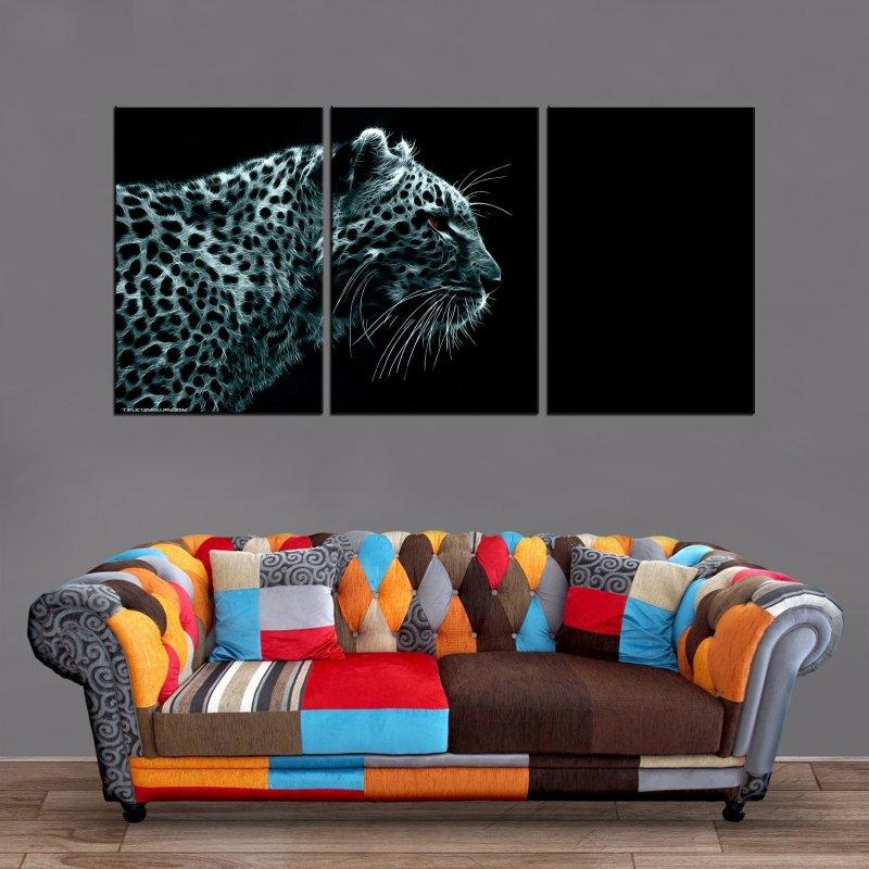 Décoration Murale Jaguar Hunting