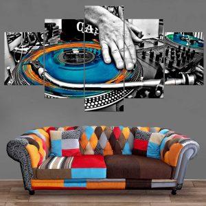 Décoration Murale Musique DJ