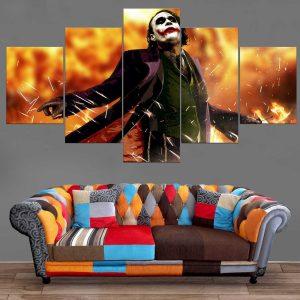 Décoration Murale Batman Joker Madness