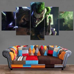 Décoration Murale Batman Joker X Harley