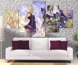 Décoration Murale Dragon Ball Z Gohan Vs Cell