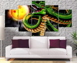 Décoration Murale Dragon Ball Z Invocation Shenron