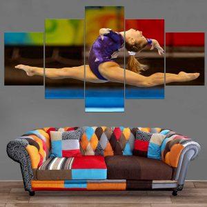 Décoration Murale Gymnastique