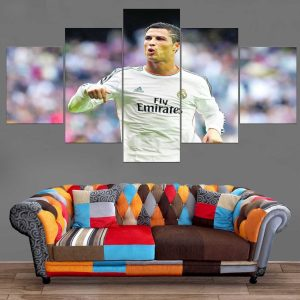 Décoration Murale Football Cristiano Ronaldo