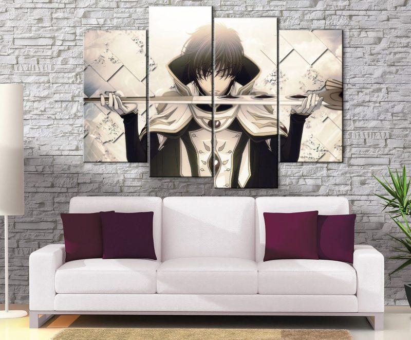 Décoration Murale Code Geass Suzaku Knight