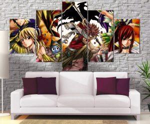 Décoration Murale Fairy Tail Guilde