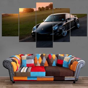 Décoration Murale Voiture Porsche