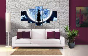 Décoration Murale Bleach Rukia Moon